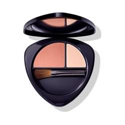 Румяна для лица двойные 01 нежный абрикос (Blush Duo 01 soft apricot), 5,7г - фото 4651