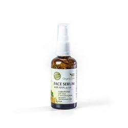 Сыворотка с АНА-кислотами для лица для сухой и чувствительной кожи, 50мл - фото 5328