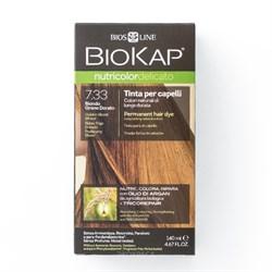 Краска для волос Блондин Золотистый Пшеничный 7.33 Delicato - фото 5606
