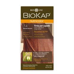 Краска для волос Медный Блондин 7.4 - фото 5625