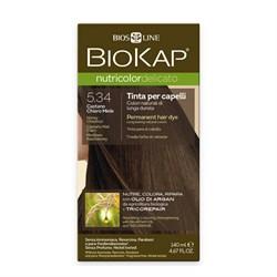 Краска для волос Медово-Каштановый 5.34 Delicato - фото 5628