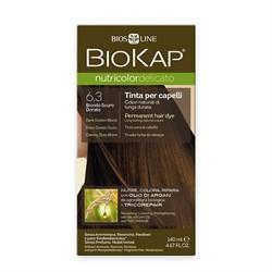 Краска для волос Тёмно-Русый Золотистый 6.3 Delicato - фото 5664