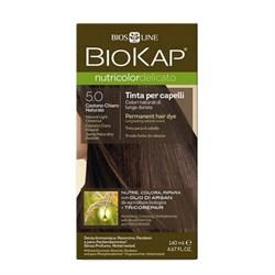 Краска для волос Светло-Коричневый 5.0 Delicato - фото 5676