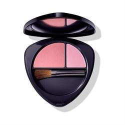 Румяна для лица двойные 02 сочный персик (Blush Duo 02 dewy peach), 5,7г - фото 5731