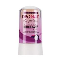 """Дезодорант-Кристалл """"ДеоНат"""" с соком МАНГОСТИНА, розовый стик, 60г - фото 6231"""