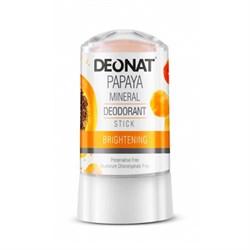 "Дезодорант-Кристалл ""ДеоНат"" с экстрактом папайи, стик 60 гр - фото 6234"