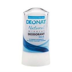 """Дезодорант-Кристалл """"ДеоНат"""", чистый, стик, 60 г - фото 6236"""