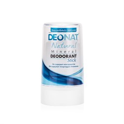 """Дезодорант-Кристалл """"ДеоНат"""" чистый, стик, """"RELAX"""" 40г - фото 6237"""