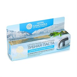Камчатская зубная паста для белоснежной улыбки, 100мл - фото 6839