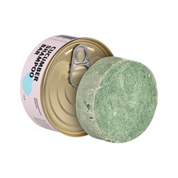 Твердый шампунь с огурцом (Cucumber Shampoo bar), 75гр - фото 8648