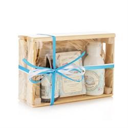 """Подарочный набор """"Молочный"""" в ящике - фото 9251"""