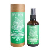 Натуральная флоральная вода для лица и тела, Утренний лес, 100мл