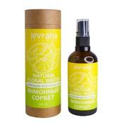 Натуральная флоральная вода для лица и тела, Лимонный сорбет, 100мл