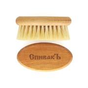 Расчёска для бороды из натурального бука, щетина кактус